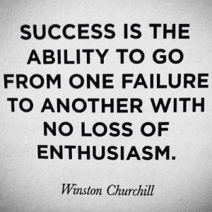 success failure to another