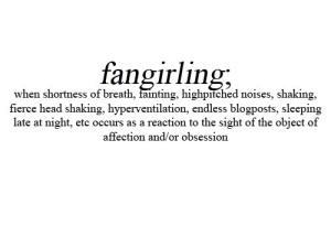 fangirling expl
