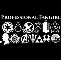 professional fangirling