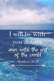 be with you always