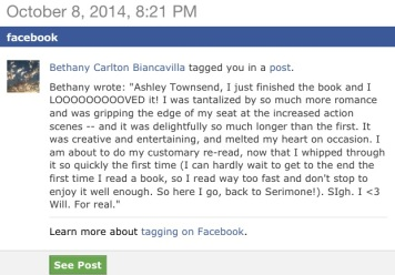 Review-Bethany, FB